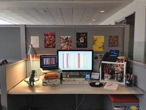 fun office deak 300x225 - A Desk Life